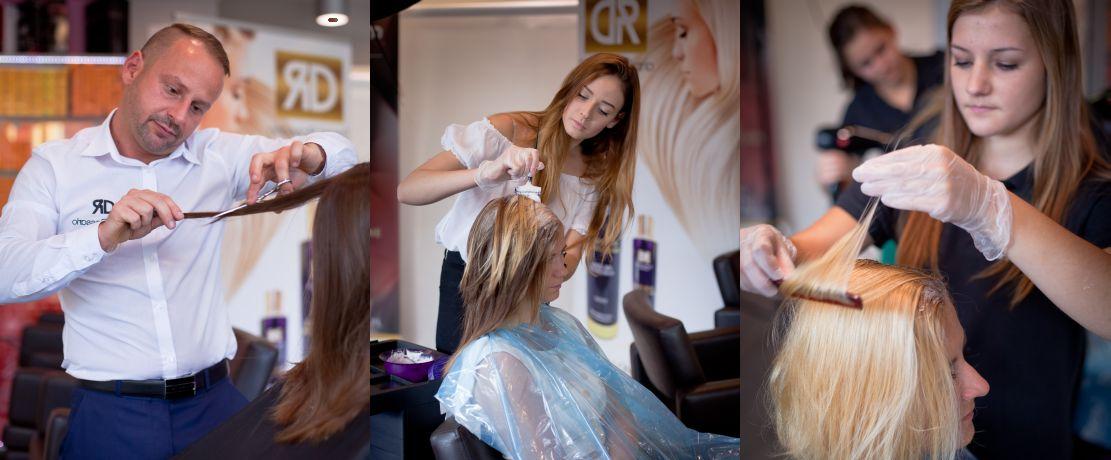Daniel Rossario Salon Fryzjerski Kosmetyki